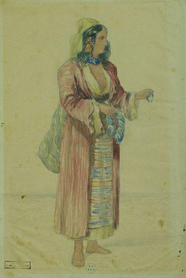 Carol Popp de Szathmari - Ţigancă