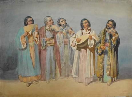 Carol Popp de Szathmari - Taraf of Ochi-Albi, 1860