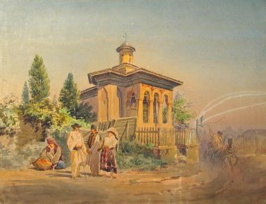 Carol Popp de Szathmary - Biserica din Bucuresti