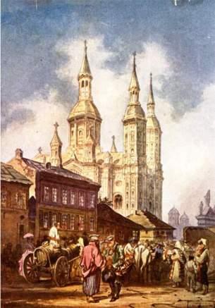 Carol Popp de Szathmary - Biserica Sfantul Spiridon 1860