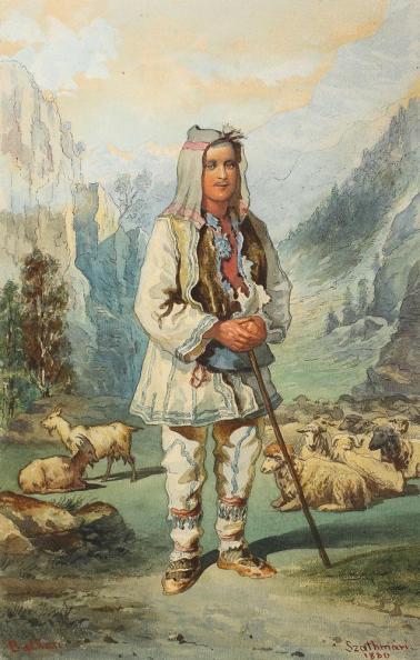 Carol Popp de Szathmary - Ciobanas