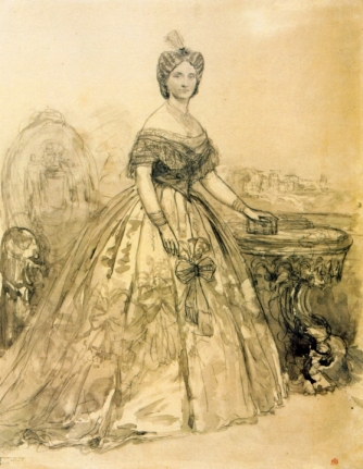 Carol Popp de Szathmary - Doamna Elena Cuza