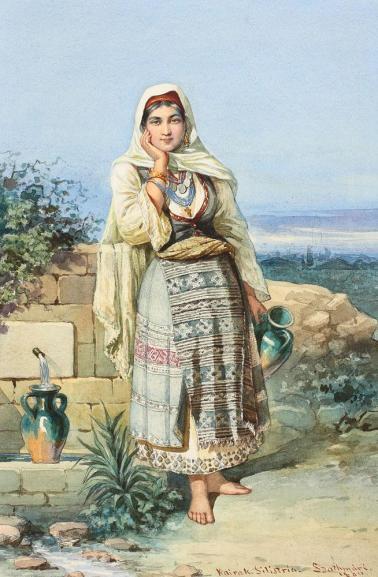 Carol Popp de Szathmary - La izvor