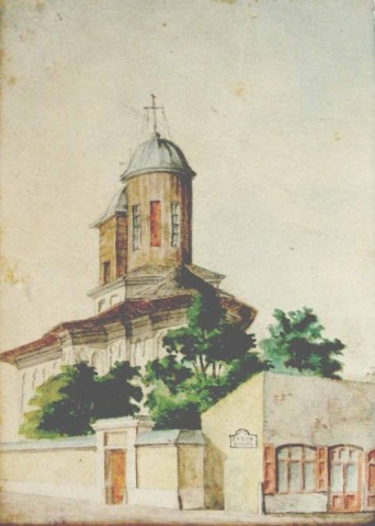 Carol Popp de Szathmáry - Biserica Toți Sfinții