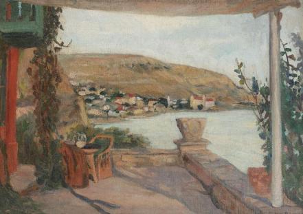 Cecilia Cuțescu-Storck - Terasă către Balcic