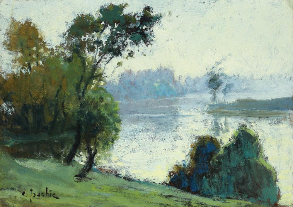 Constantin Isachie Popescu - Pe malul lacului Herăstrău
