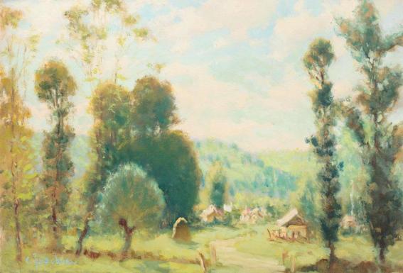 Constantin Isachie Popescu - Peisaj de vară