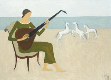 Constantin Piliuță - Dansul cailor
