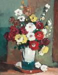 Jean Cheller - Vas cu flori