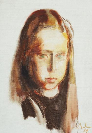 Corneliu Baba - Portret de fetiţă