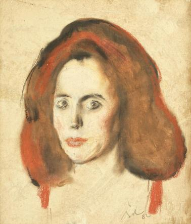 Corneliu Baba – Portretul femeii cu părul roșu