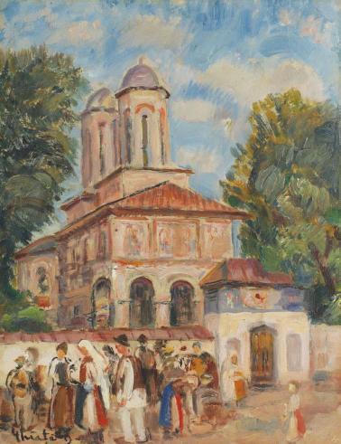 Dumitru Ghiaţă - Zi de sărbătoare la Horezu