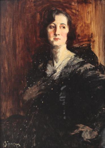 Eustațiu Stoenescu – Portretul unei aristocrate