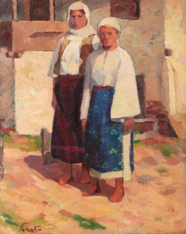Francisc Șirato - Țărănci din Dolj