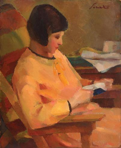 Francisc Șirato - Lila în galben