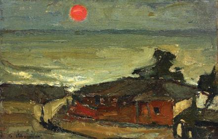 Gheorghe Petrașcu - Apus de soare