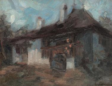 Gheorghe Petrașcu - Culă muntenească
