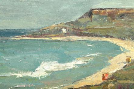 Gheorghe Petrașcu - Golf la Balcic