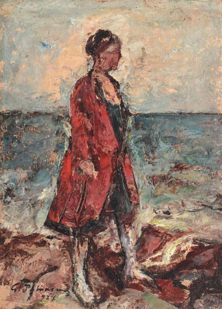 Gheorghe Petrașcu - La malul mării