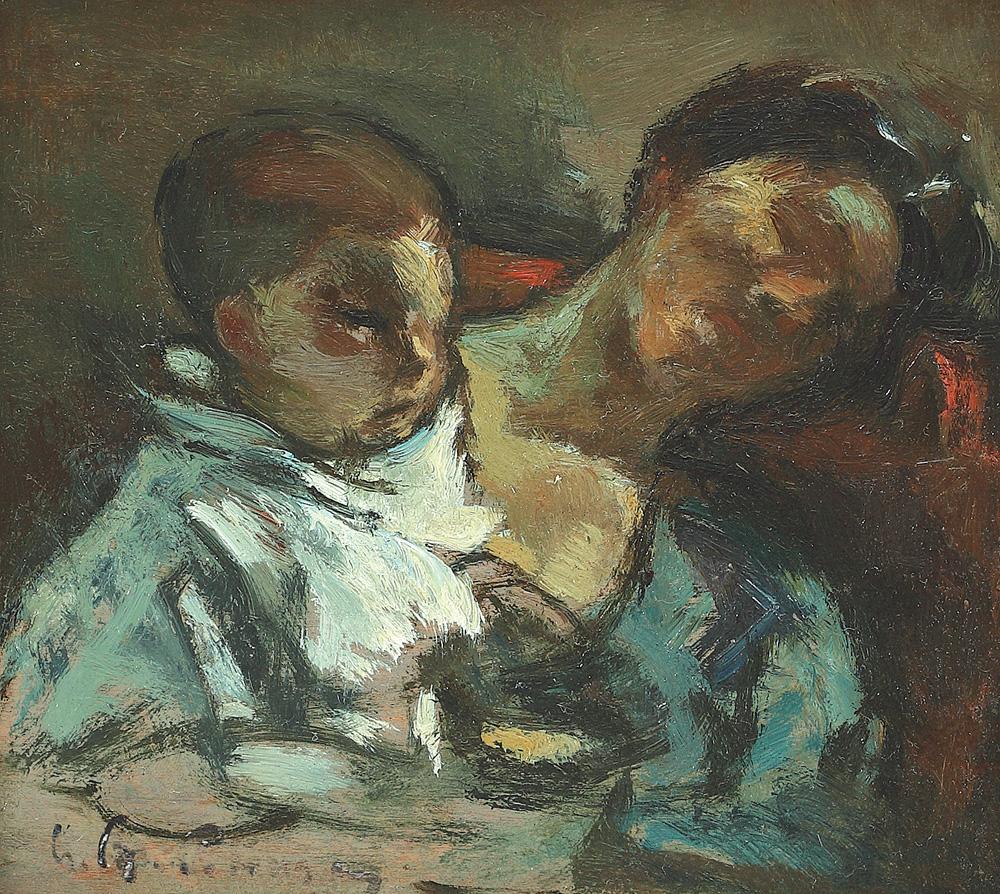 Gheorghe Petrașcu - Maternitate
