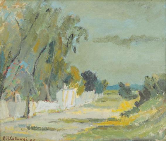 Henri Catargi - Peisaj de vară