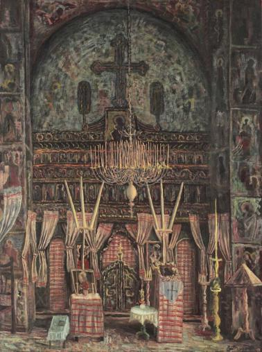 Horia Bernea - Tâmplă de biserică