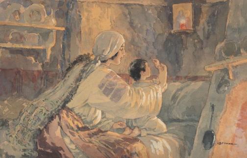 Ignat Bednarik - Rugăciunea de seară