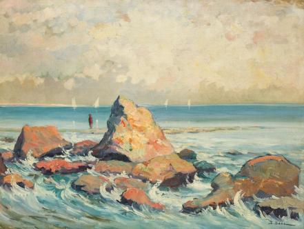 Ioan Isac - Țărm în Bretania