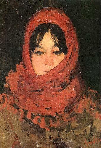 Ion Andreescu - Broboada rosie