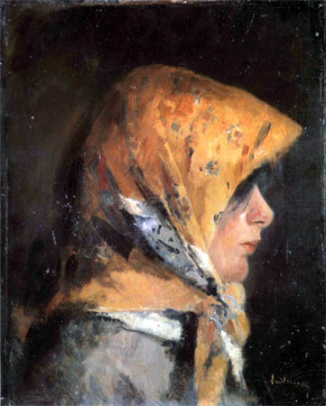 Ion Andreescu - Taranca cu broboada galbena