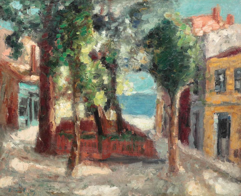 Ion Ţuculescu - După-amiază la Mangalia