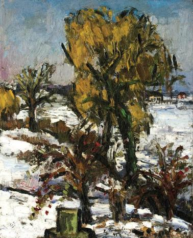 Ion Ţuculescu - Iarnă la Costinești