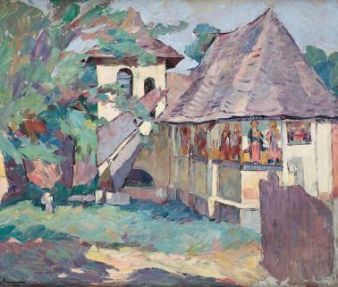 Ion Theodorescu Sion - Biserica din Olari