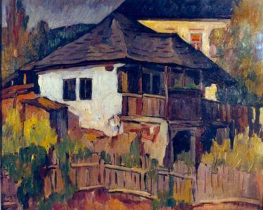 Ion Theodorescu-Sion - Casa taraneasca din Curtea de Arges