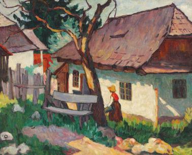 Ion Theodorescu-Sion - Case la amiază (Efect de soare)