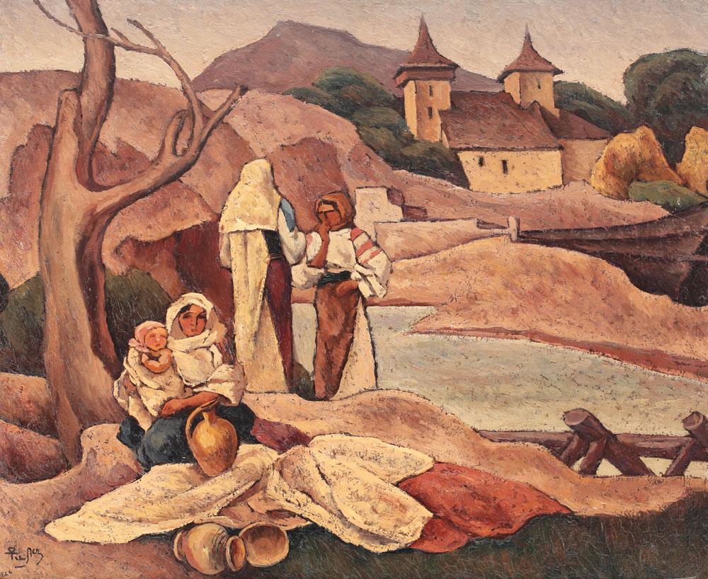 Ion Theodorescu Sion - Compoziţie cu motive româneşti