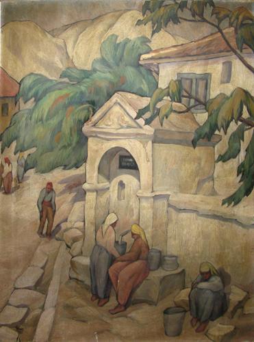 Ion Theodorescu Sion - Fantana din Balcic