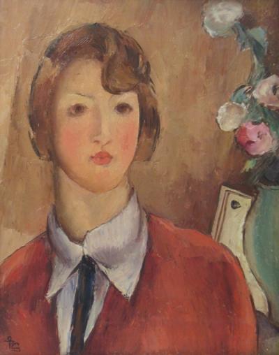 Ion Theodorescu-Sion – Fata in rosu