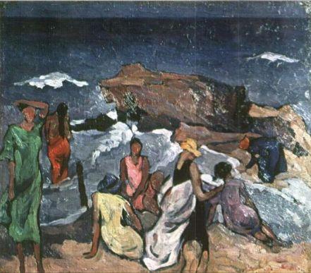 Ion Theodorescu-Sion - Femei pe plaja