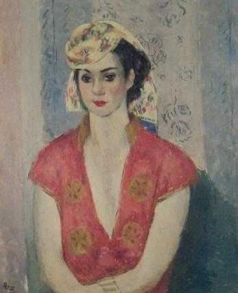 Ion Theodorescu-Sion – Portret de fata