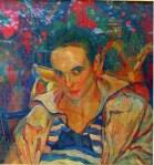 Ion Theodorescu-Sion - Portret Lola Schmierer Roth