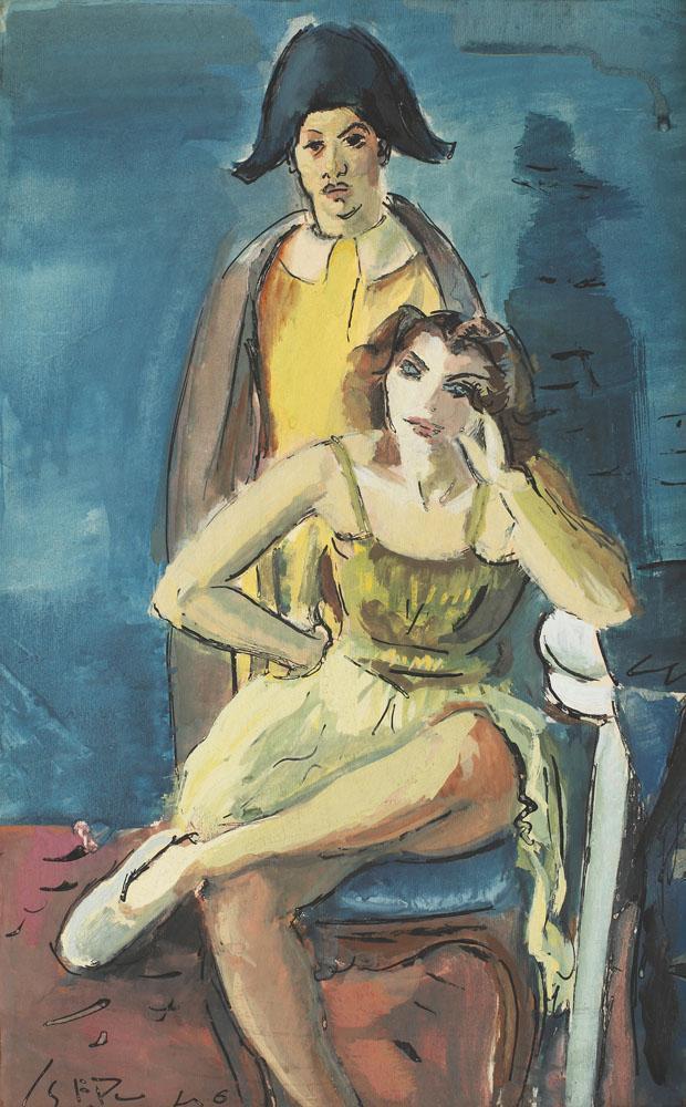 Iosif Iser - Arlechin şi colombină