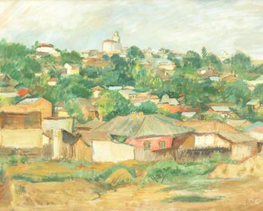 Iosif Iser - Case la marginea Bucureștiului