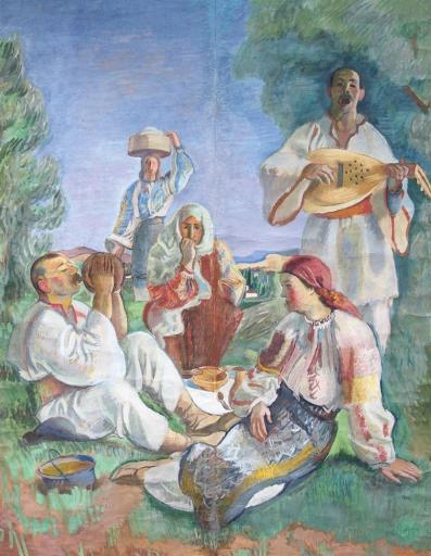 Iosif Iser - Petrecere câmpenească
