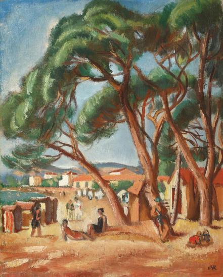 Iosif Iser - Plajă în sudul Franței