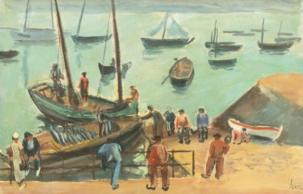 Iosif Iser - Port în Bretania