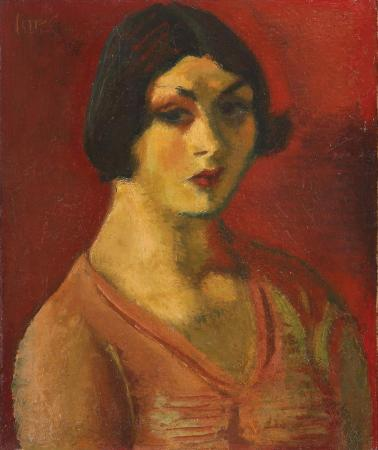 Iosif Iser – Portretul unei colombine