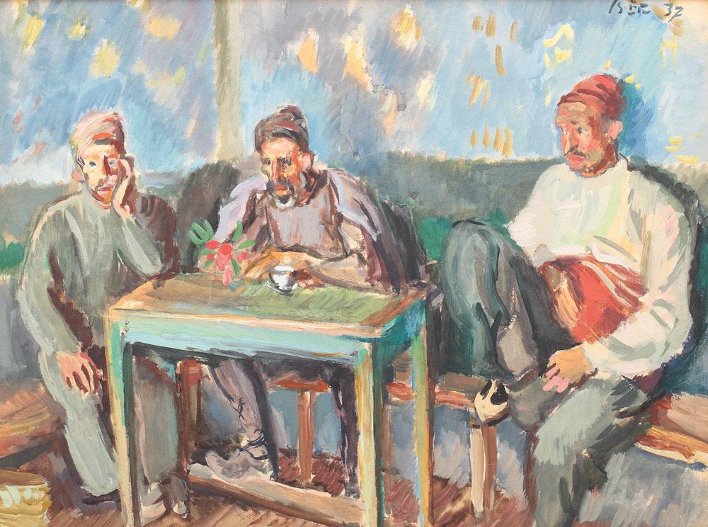 Iosif Iser - Turci la cafenea