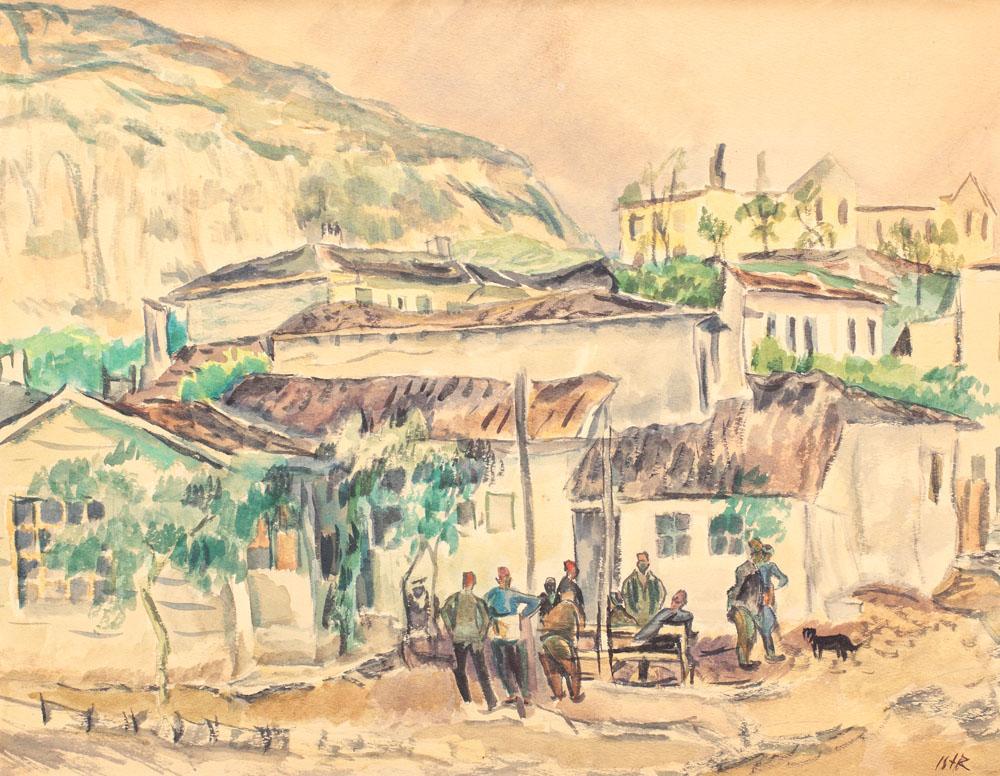 Iosif Iser - Turci la cafenea.