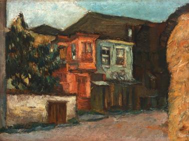 Ion Ţuculescu - Noapte la Ștefănești